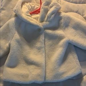 White coat for toddler girls